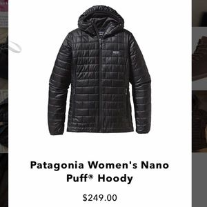 Patagonia NWT Nano Puff Hoody